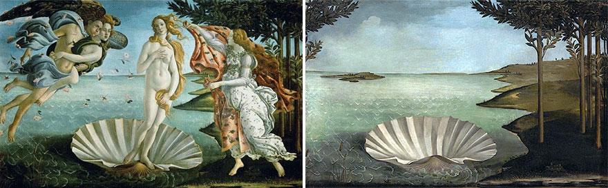 La naissance de Vénus de Sandro Botticelli