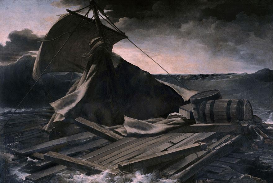 Le radeau de la méduse de Théodore Géricault 2