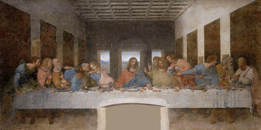 cène de Leonard de Vinci 2
